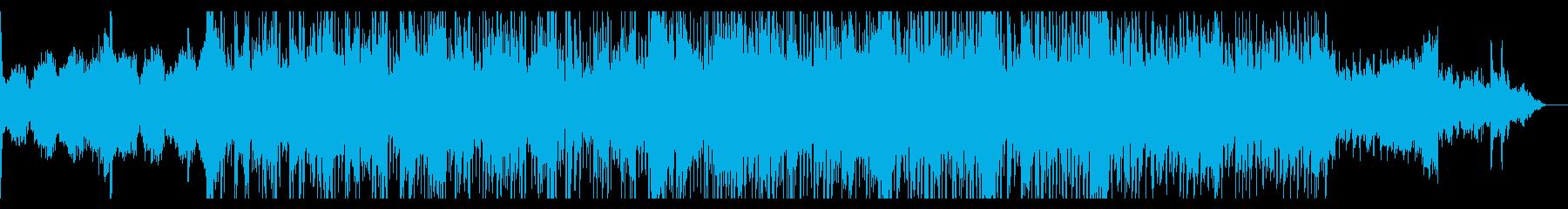 シネマティックに重々しく迫るアンビエントの再生済みの波形