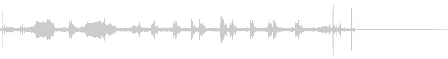 VHS:トップローディング:開始、...の未再生の波形