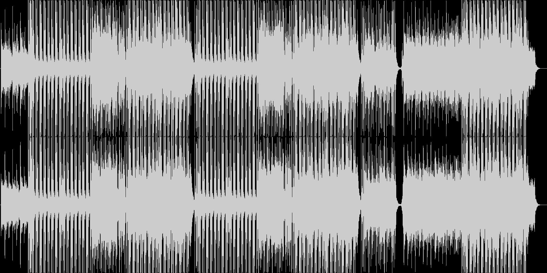 甘くせつないミッドR&Bバラード♬の未再生の波形