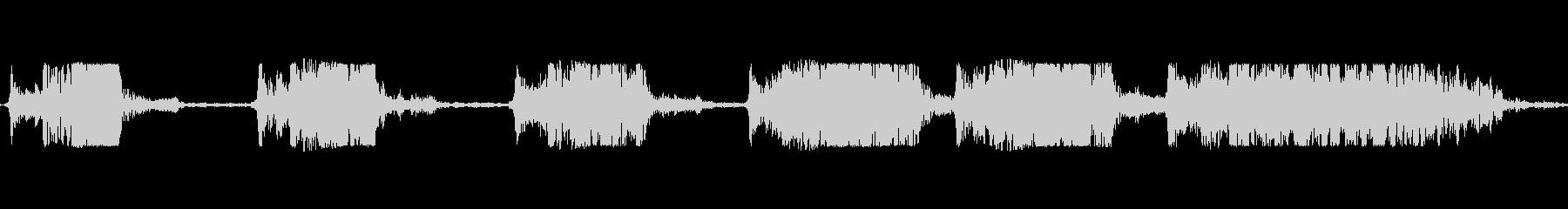 ロケットアフターバーナー火災フランジ付きの未再生の波形