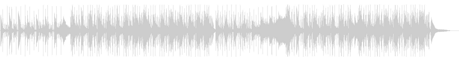 寂しいアンビエント、ヒップホップの未再生の波形