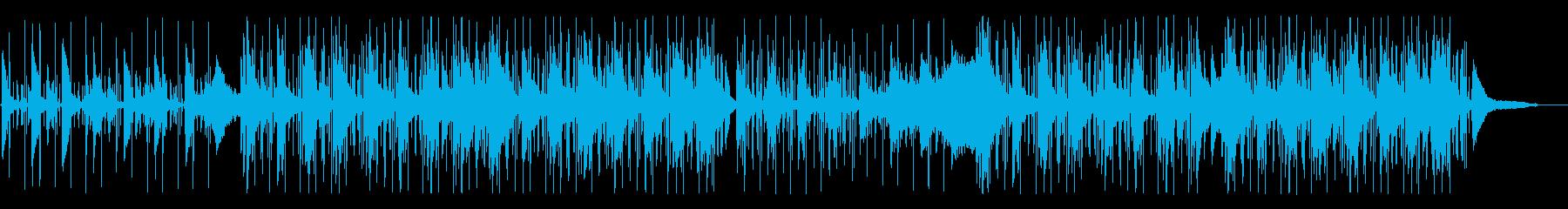 寂しいアンビエント、ヒップホップの再生済みの波形
