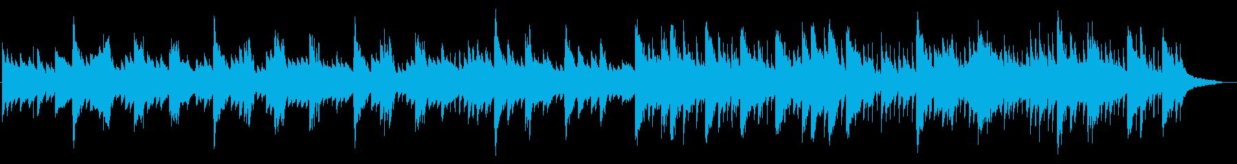 シェーカー抜】夕方~日没、ゆったりした曲の再生済みの波形
