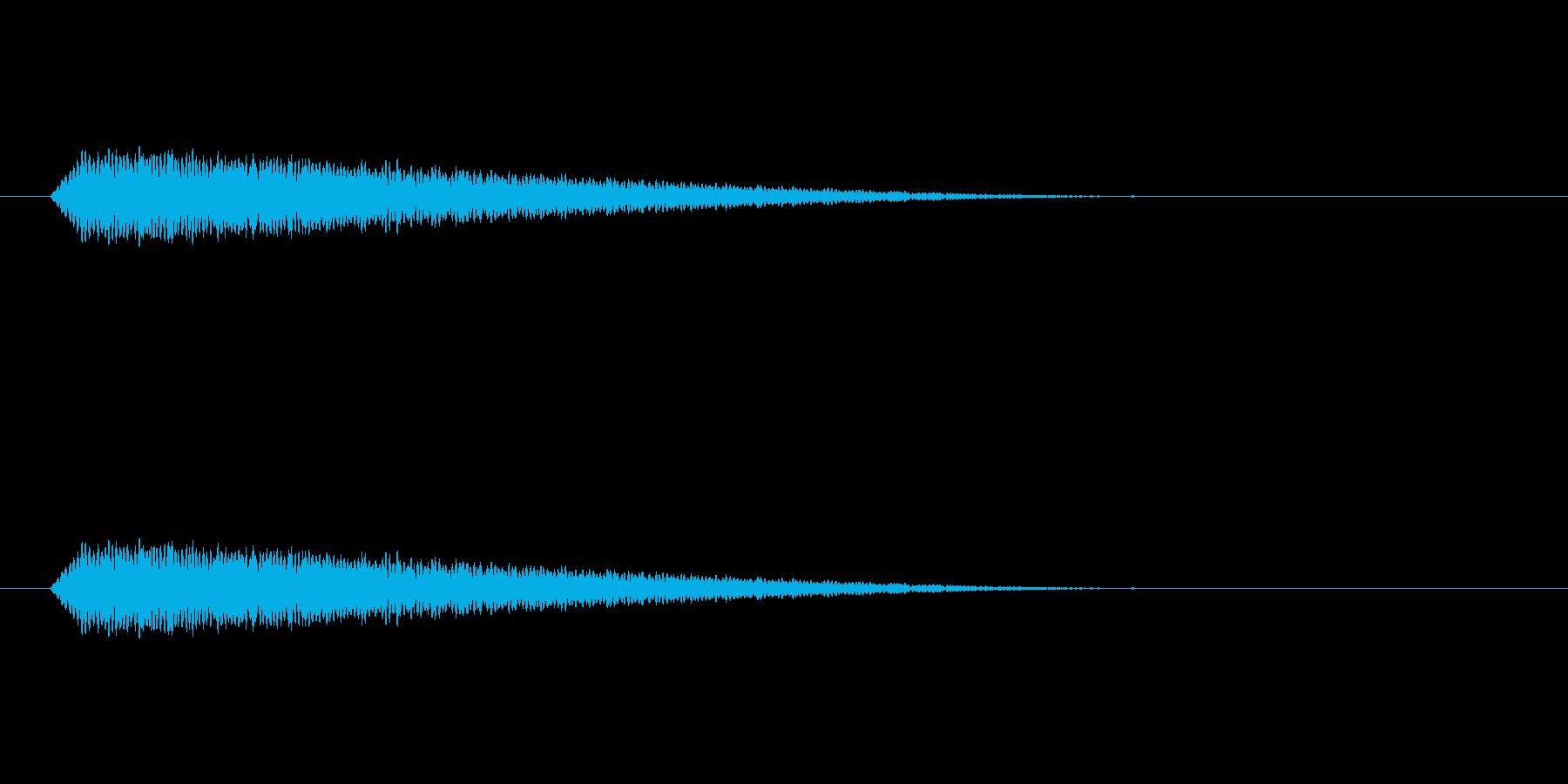 【光る03-2】の再生済みの波形