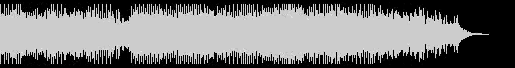 成功した建設(60秒)の未再生の波形