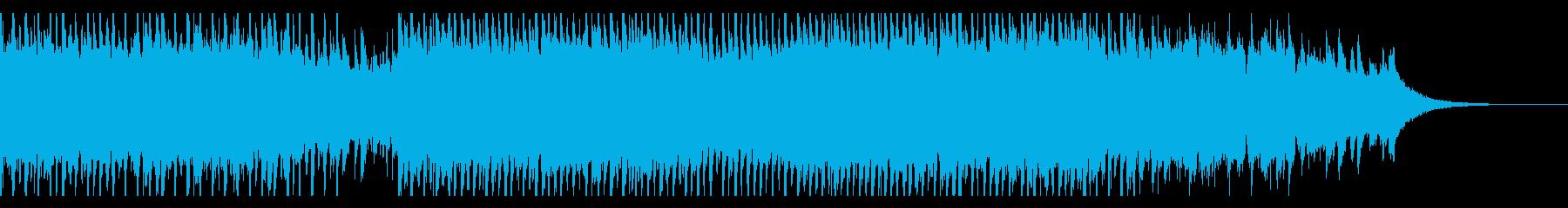 成功した建設(60秒)の再生済みの波形
