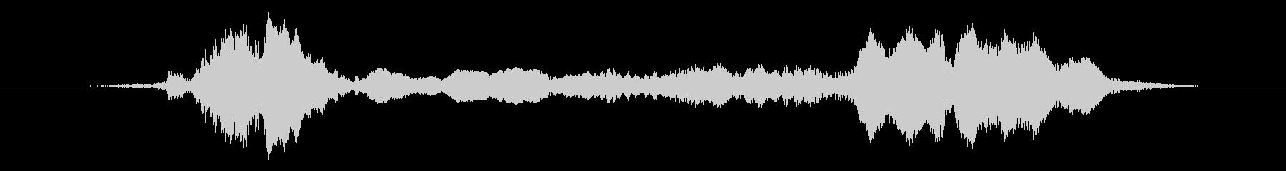 メタルキーキーの未再生の波形