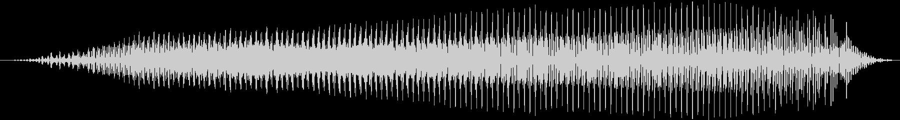 ラクダのうめき声。シングルショート...の未再生の波形