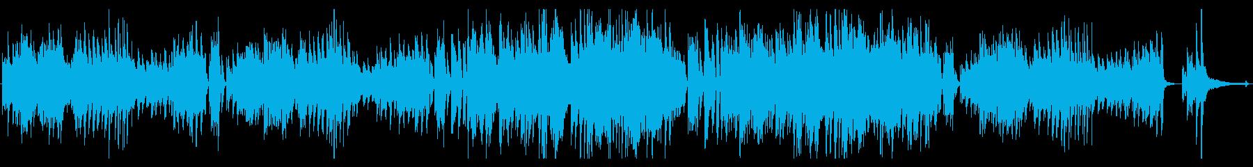 ソロピアノ。ラグタイム。の再生済みの波形