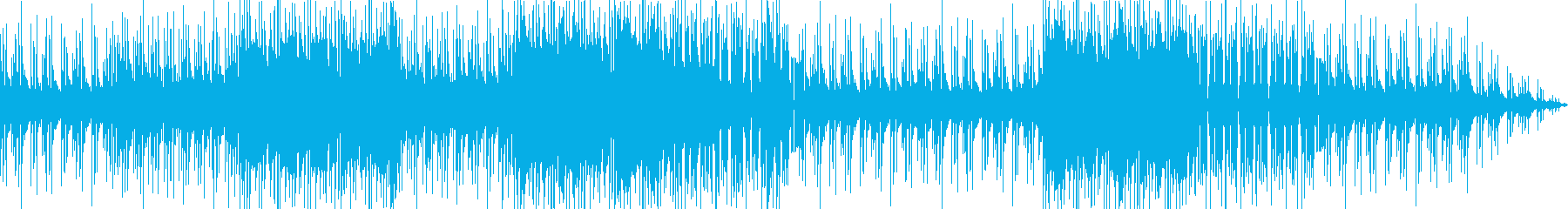 ポップな背景の再生済みの波形