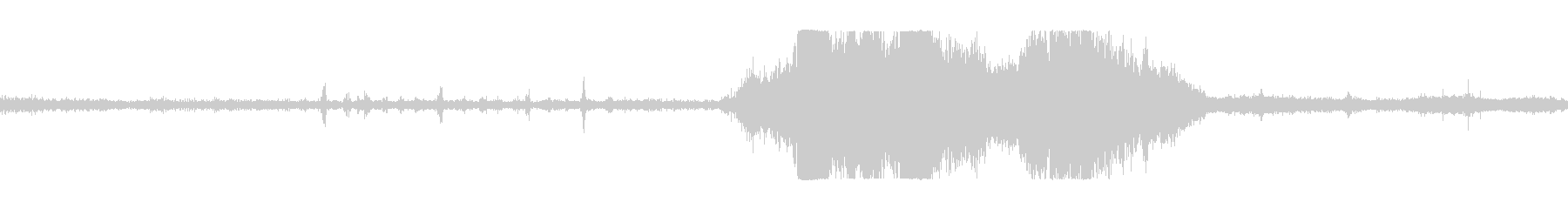 トラクタープルレース回転gの未再生の波形