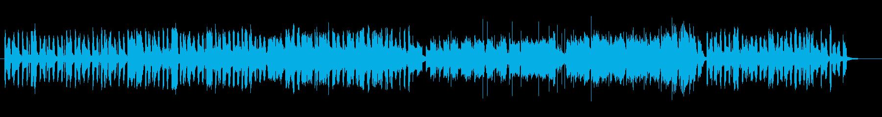 朗らかでほのぼのとしたBGMの再生済みの波形