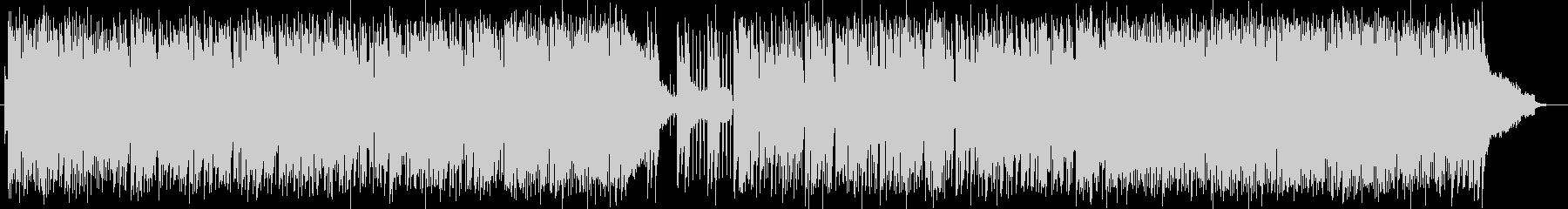 ハーモニカによるポップスの未再生の波形