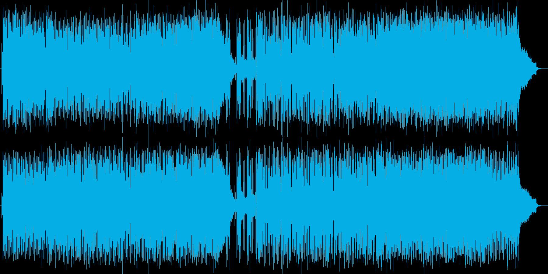 ハーモニカによるポップスの再生済みの波形