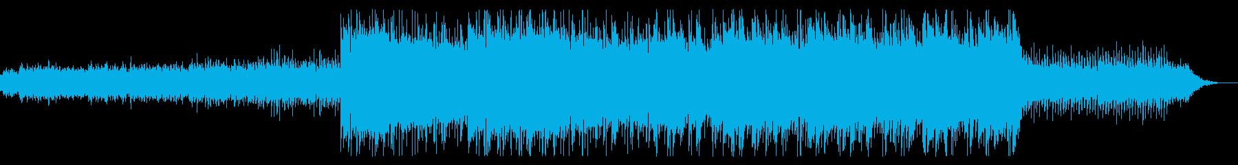 幻想的でエレクトロなピアノミュージックの再生済みの波形