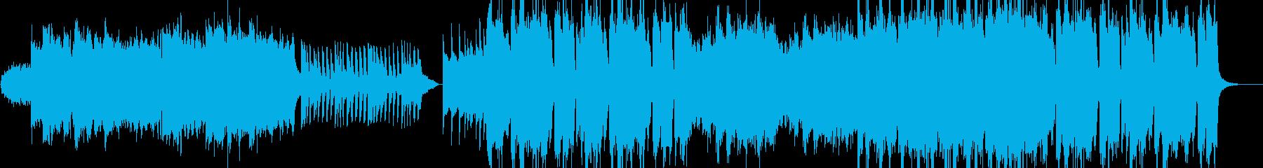 広大なミュージカルオーケストラの再生済みの波形