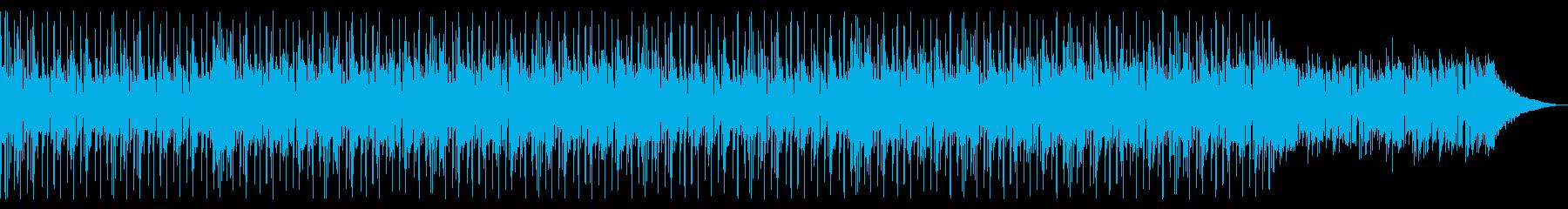 おしゃれ懐かしい80'sディスコファンクの再生済みの波形