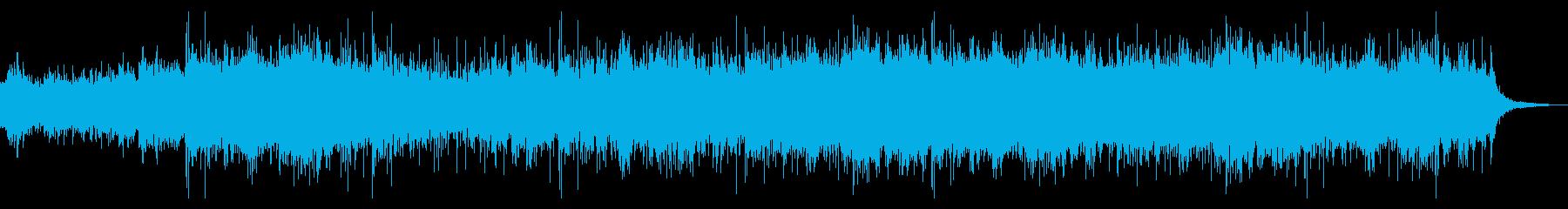 シネマティックで捻れたテクスチャの再生済みの波形