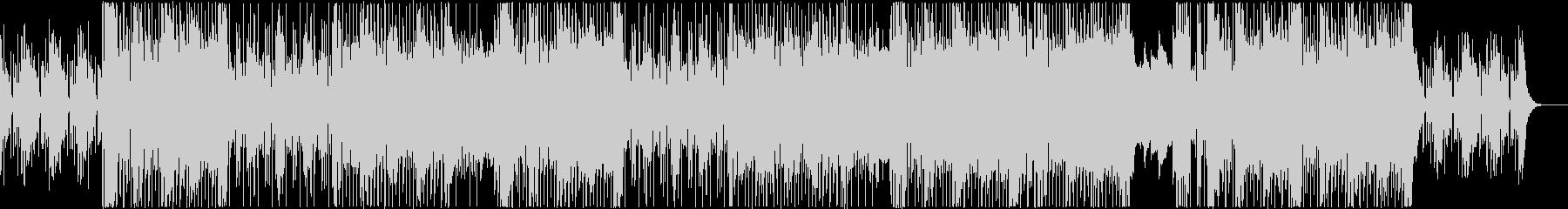 R&B/ゴスペル調BGMの未再生の波形