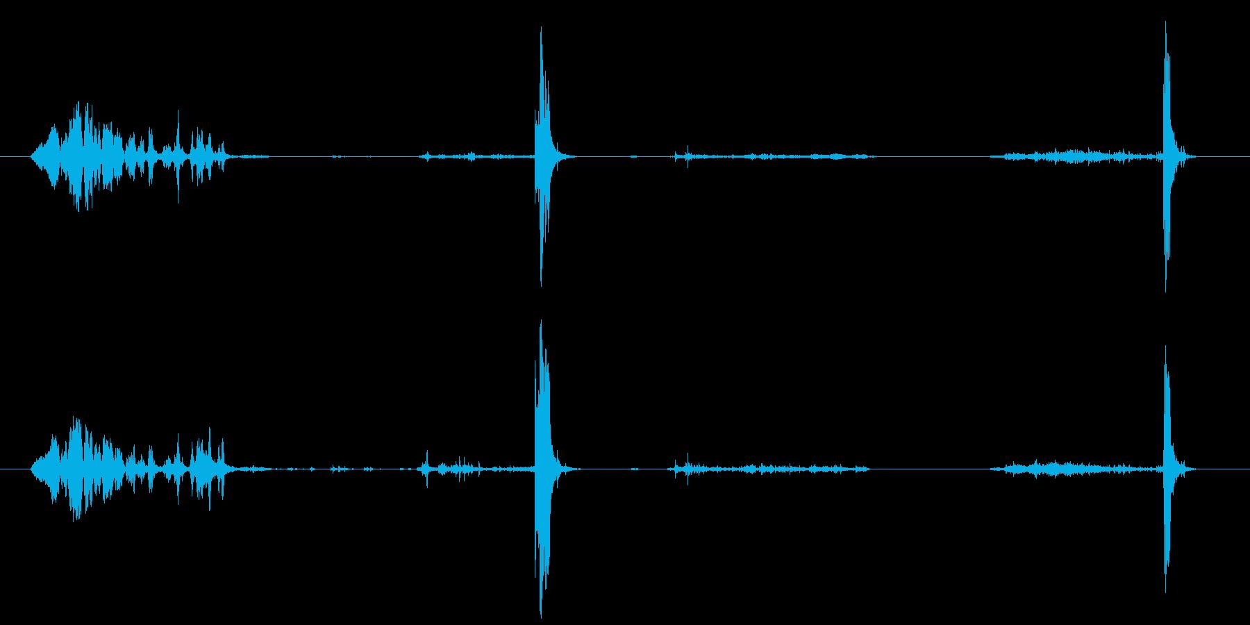 ギィィィィ(建付け悪い)(古い)の再生済みの波形