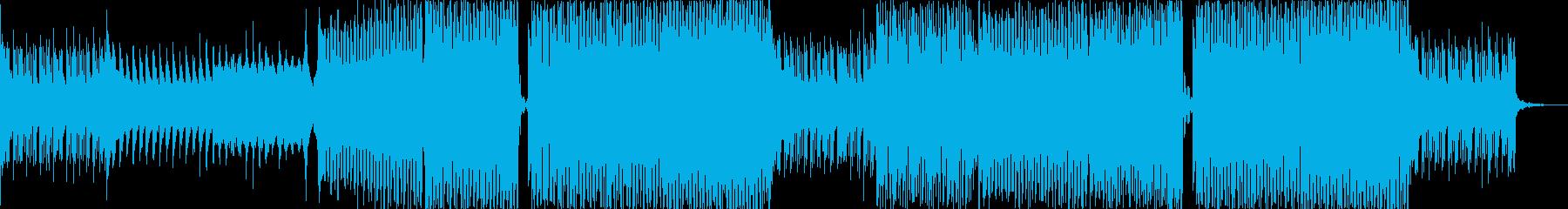 フェス感のあるエレクトロハウスの再生済みの波形