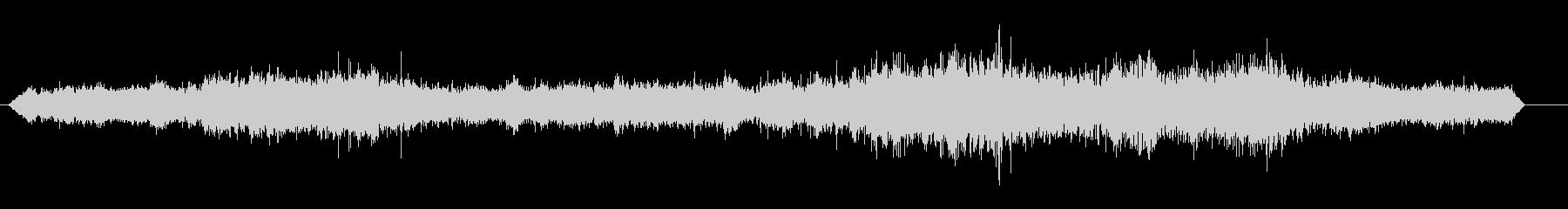 電車-中央駅-声の未再生の波形