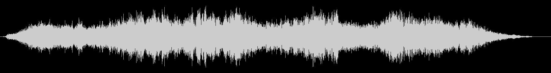 トランジション パッドスイープシズル02の未再生の波形