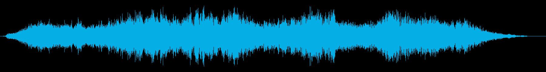 トランジション パッドスイープシズル02の再生済みの波形