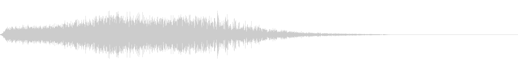 SF 移動音 8の未再生の波形
