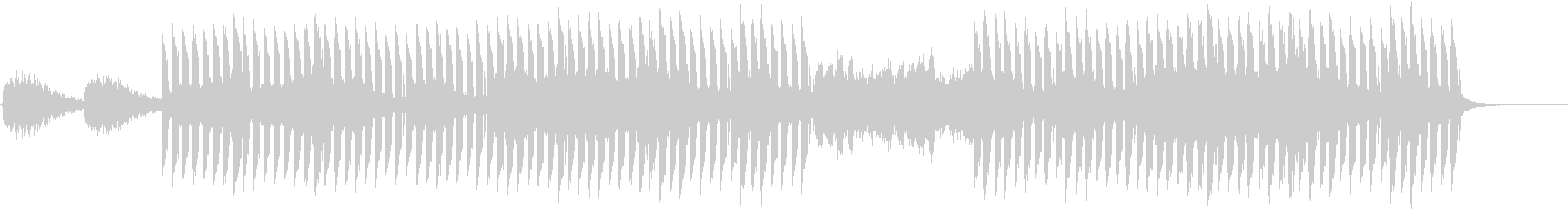 おしゃれかっこいいEDMジングル5の未再生の波形