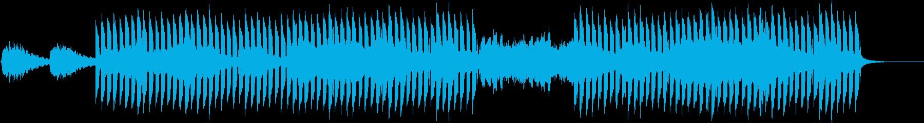 おしゃれかっこいいEDMジングル5の再生済みの波形