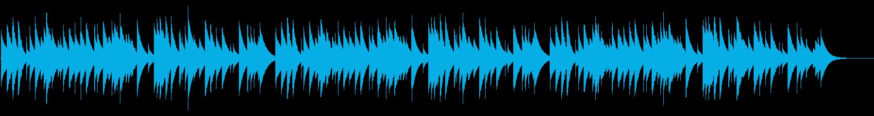 冬景色 カード式オルゴールの再生済みの波形