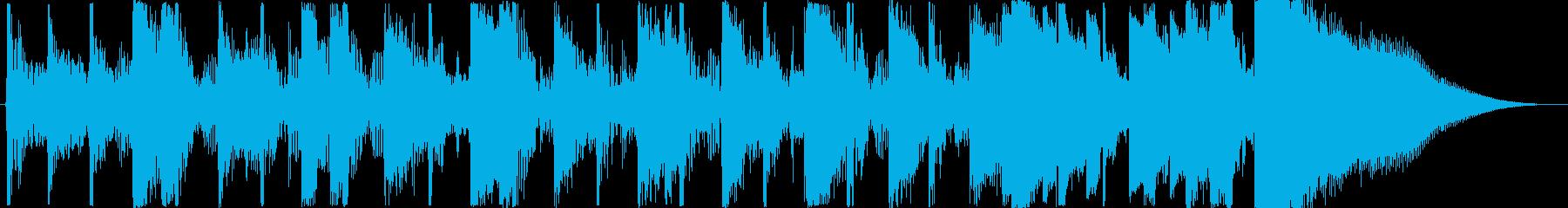 【生演奏ギター】ダンディブルースEDOPの再生済みの波形