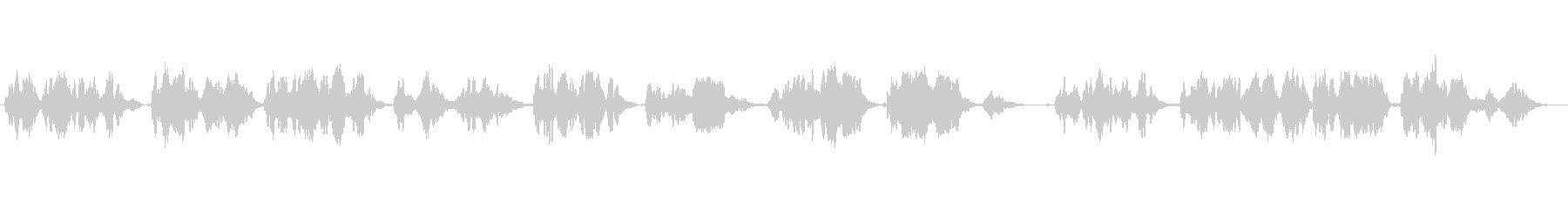 A classical flute solo song with melancholy's unreproduced waveform