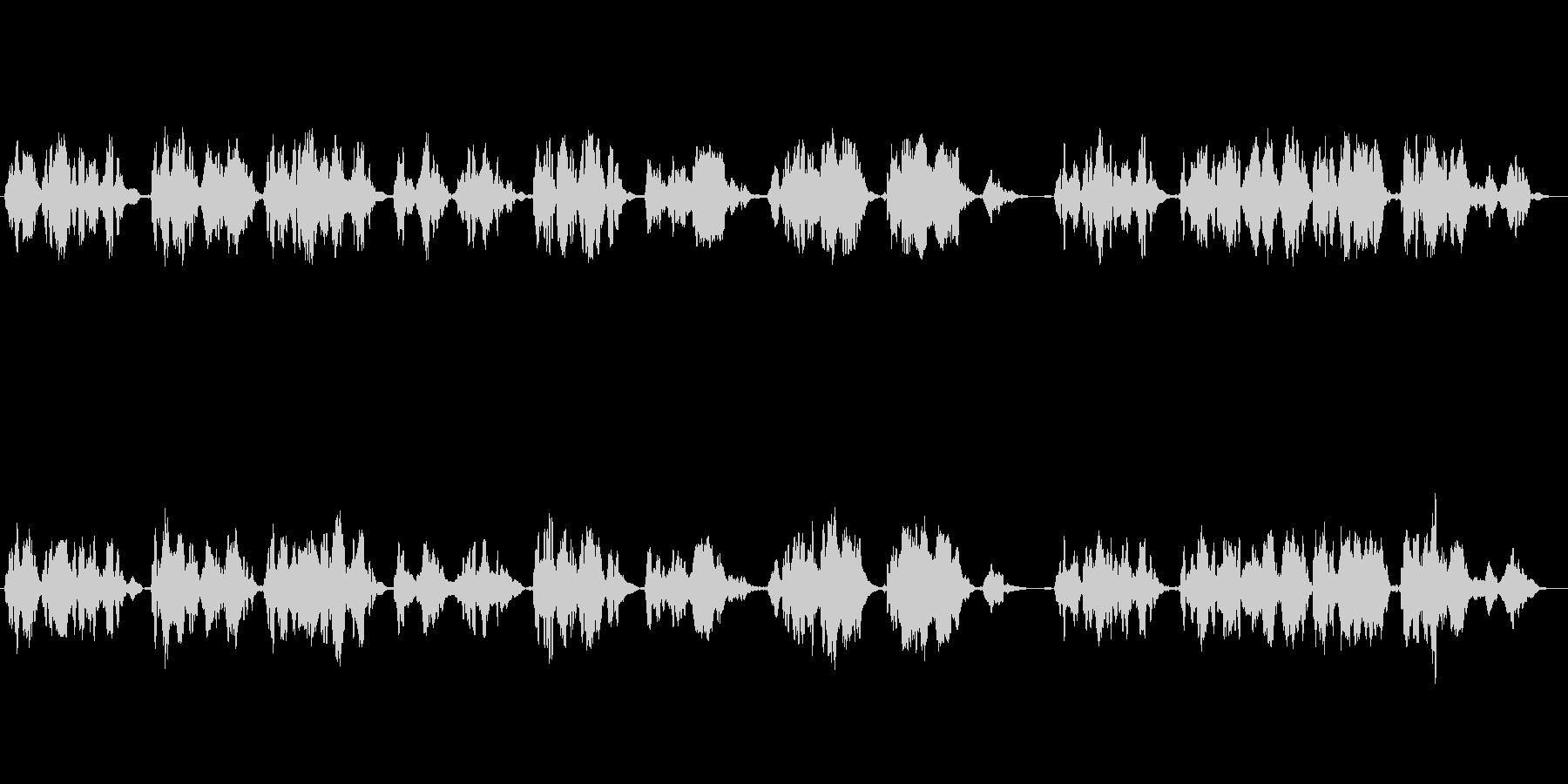哀愁漂うクラシカルなフルート独奏曲の未再生の波形