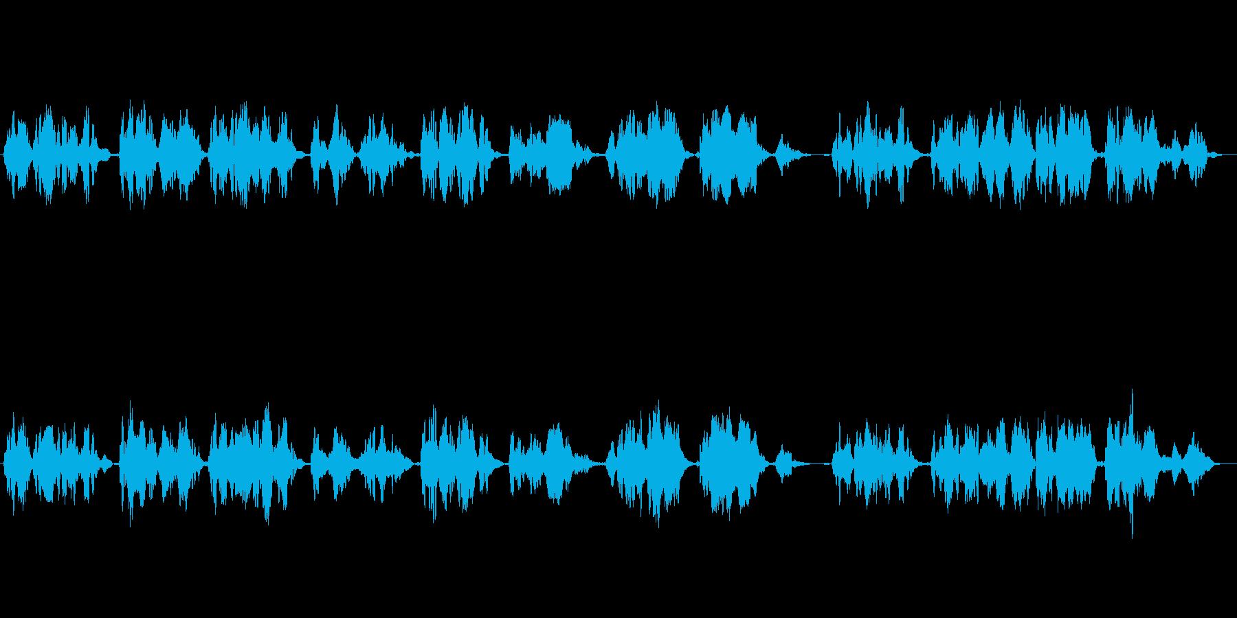 哀愁漂うクラシカルなフルート独奏曲の再生済みの波形