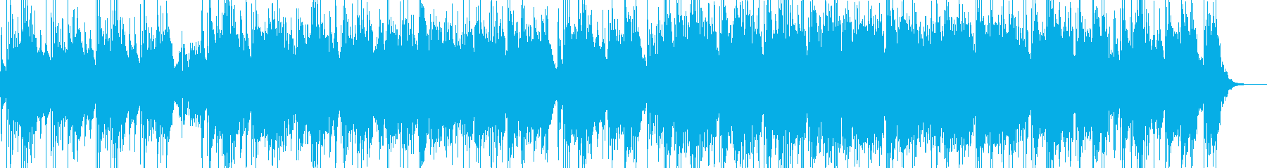 ハープと笛の幻想的なケルト民族調バラッドの再生済みの波形