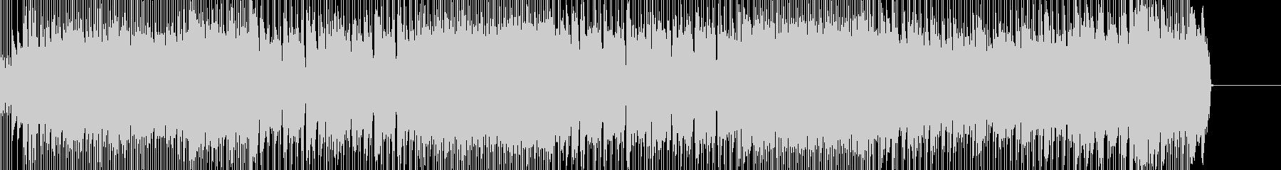 ノリのいいシャッフルロックの未再生の波形