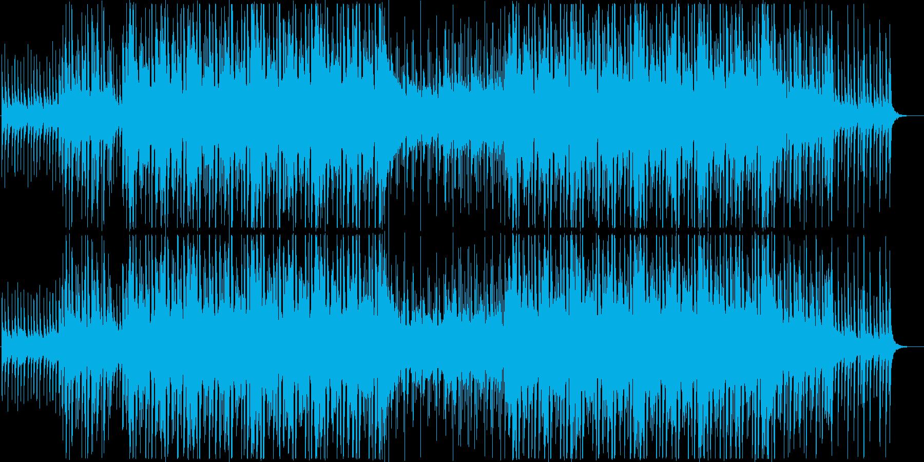 アジアン風暖かいトロピカルハウス(メロ無の再生済みの波形