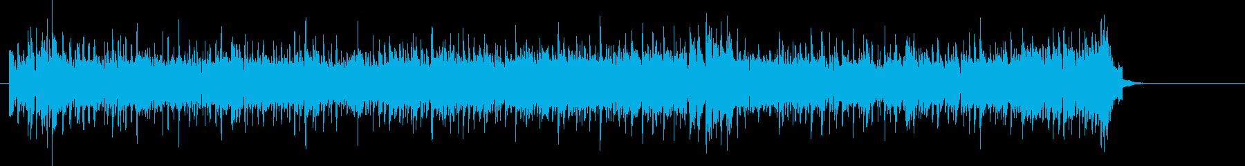 オルガン・ソロが炸裂するファンク・ロックの再生済みの波形