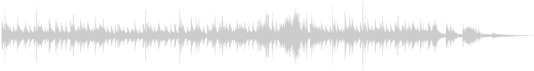 ノスタルジックで優雅なジャズバラードの未再生の波形
