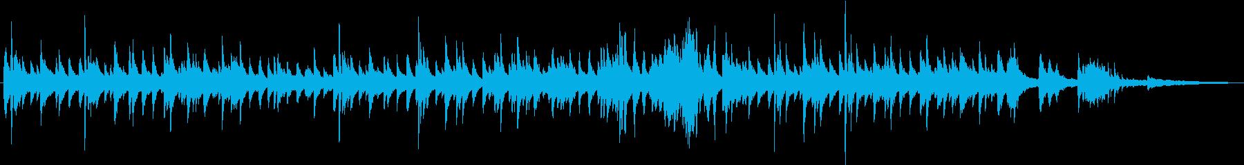 ノスタルジックで優雅なジャズバラードの再生済みの波形