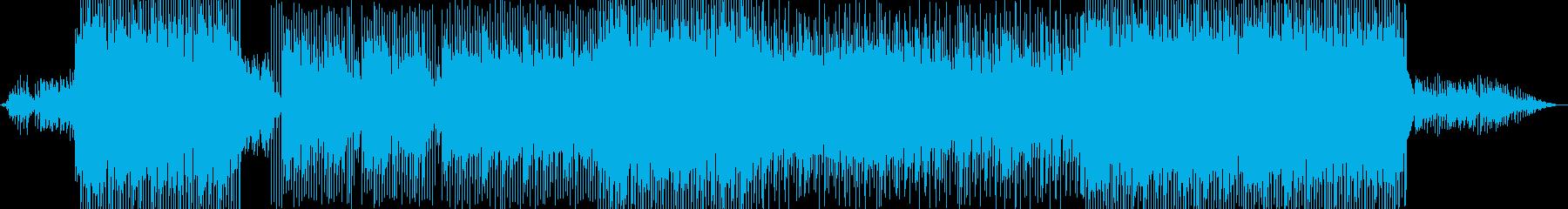 切ないく雰囲気のピアノBGMです。の再生済みの波形