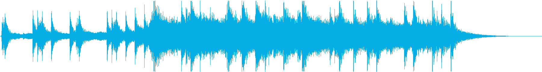 Fanfareの再生済みの波形