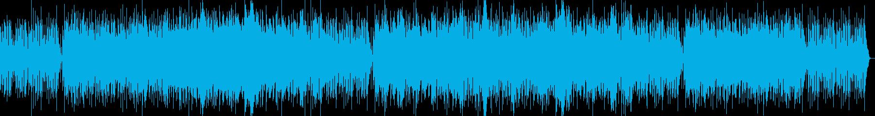 カフェラウンジをイメージしたボサノバの再生済みの波形