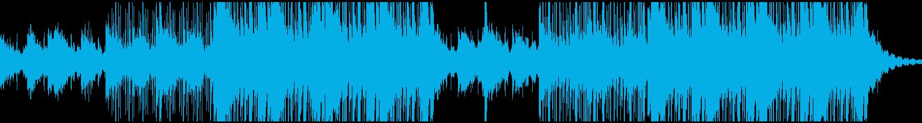 レトロ ドラマチック ピアノ シン...の再生済みの波形