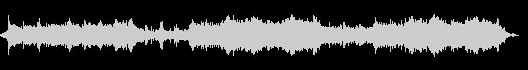 シネマティック エピック テクスチャーの未再生の波形