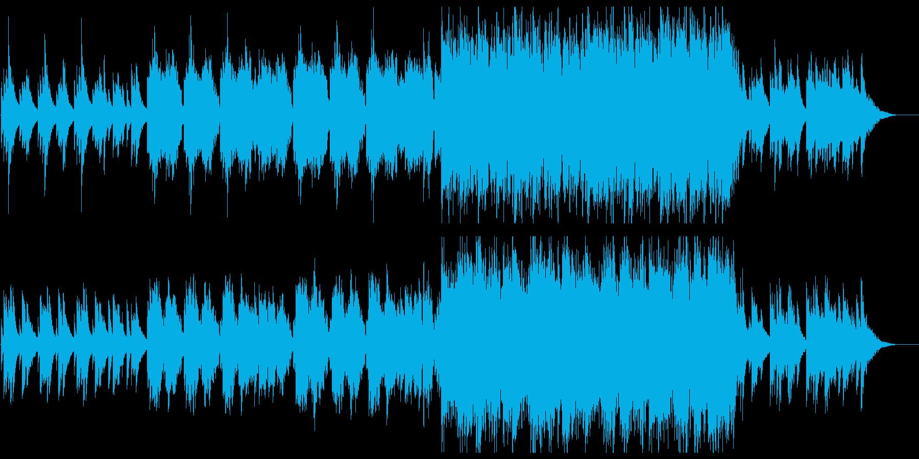 切なく力強い和風バラード/桜/京都の再生済みの波形