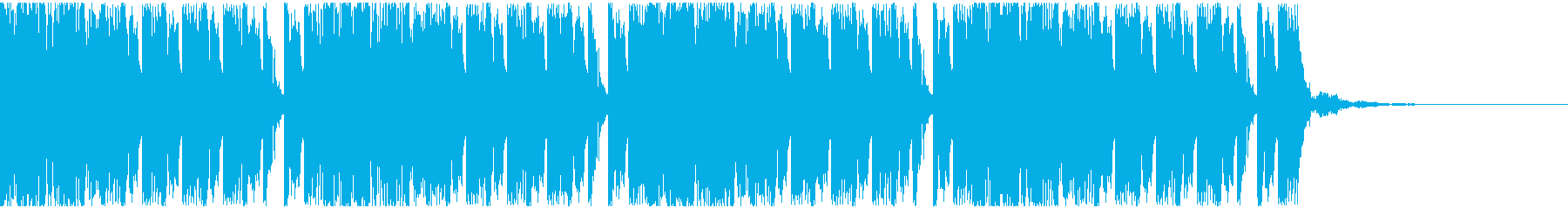 【EDM】トランス、ロング8、ジングル3の再生済みの波形