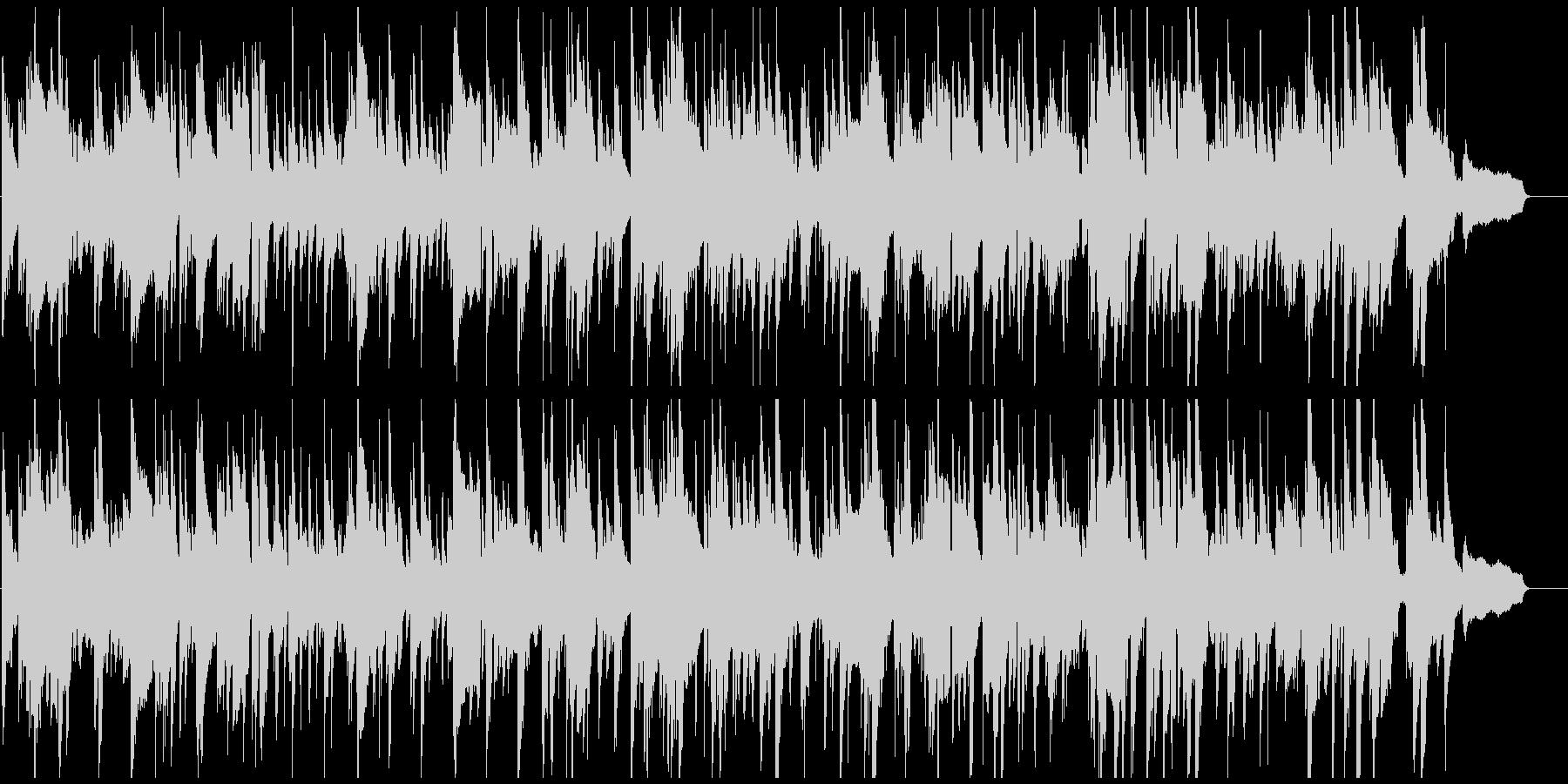 ノスタルジックなサックス・ジャズバラードの未再生の波形